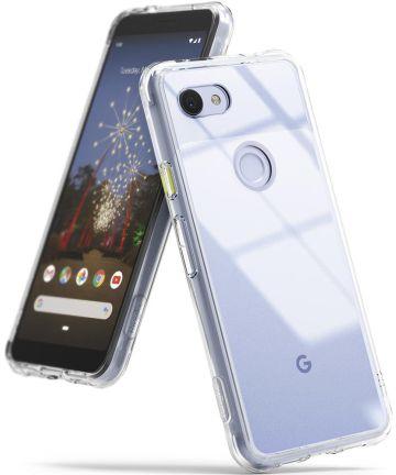 Ringke Fusion Google Pixel 3A Hoesje Transparant Hoesjes