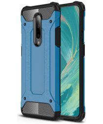 OnePlus 7 Pro Hybride Hoesje Blauw