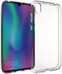 Huawei Y5 (2019) Hoesje Dun TPU Transparant