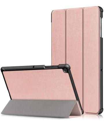 Samsung Galaxy Tab S5e Hoes Tri-Fold Roze Hoesjes
