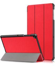 Samsung Galaxy Tab S5e Hoes Tri-Fold Rood