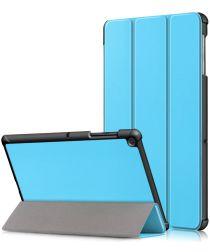 Samsung Galaxy Tab S5e Hoes Tri-Fold Blauw
