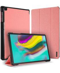 Dux Ducis Domo Series Samsung Galaxy Tab S5e Tri-fold Hoes Roze
