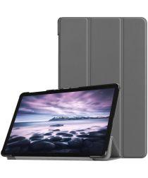 Samsung Galaxy Tab A 10.5 (2018) Tri-Fold Hoes Grijs