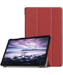 Samsung Galaxy Tab A 10.5 (2018) Tri-Fold Hoes Rood