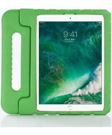iPad Pro 11 2018 / 2020 /Air 2020 Kinder Tablethoes met Handvat Groen Hoesjes