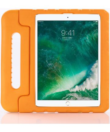 Apple iPad Pro 11 (2018) Kinder Tablethoes met Handvat Oranje