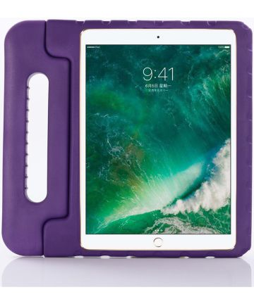 iPad Pro 11 2018 / 2020 /Air 2020 Kinder Tablethoes met Handvat Paars Hoesjes