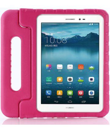 Huawei MediaPad T3 (10) Kinder Tablethoes met Handvat Roze Hoesjes