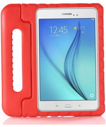 Samsung Galaxy Tab A 10.5 (2018) Kinder Tablethoes met Handvat Rood Hoesjes