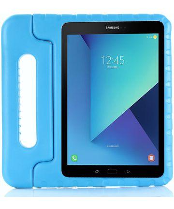Samsung Galaxy Tab S4 10.5 Kinder Tablethoes met Handvat Blauw Hoesjes