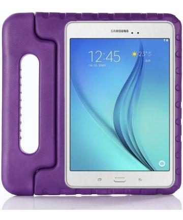 Samsung Galaxy Tab S4 10.5 Kinder Tablethoes met Handvat Paars Hoesjes