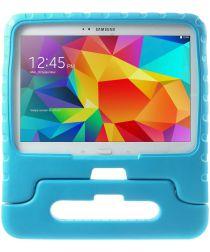 Samsung Galaxy Tab 4 10.1 Kinder Tablethoes met Handvat Blauw