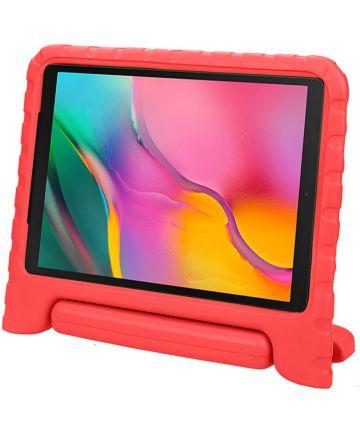 Samsung Galaxy Tab A 10.1 (2019) Kinder Tablethoes met Handvat Rood Hoesjes