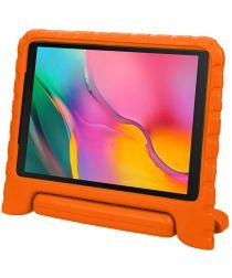 Samsung Galaxy Tab A 10.1 (2019) Kinder Tablethoes met Handvat Oranje