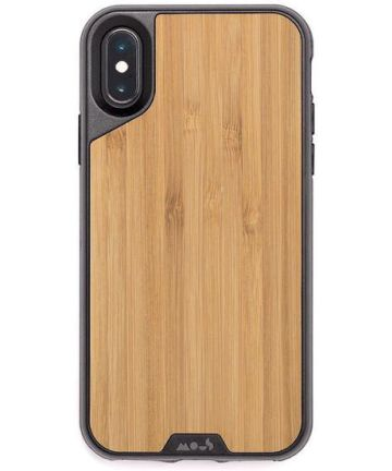 MOUS Limitless 2.0 Apple iPhone XS / X Hoesje Bamboo