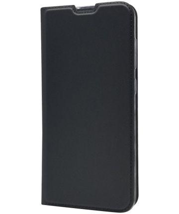 Samsung Galaxy A70 Stijlvol Portemonnee Hoesje Zwart Hoesjes