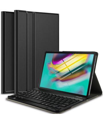 Samsung Galaxy Tab S5e Hoes met Verstelbaar Toetsenbord Zwart Hoesjes