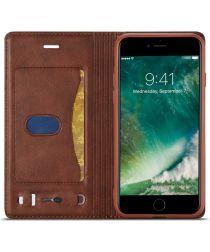 Apple iPhone SE (2020) Hoesje Retro Portemonnee Book Case Bruin