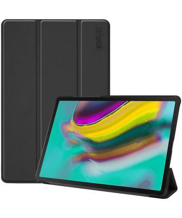 Samsung Galaxy Tab S5e Tri-Fold Hoesje Zwart Hoesjes