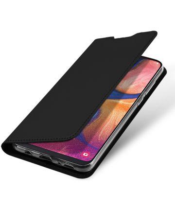 Dux Ducis Samsung Galaxy A20e Bookcase Hoesje Zwart Hoesjes