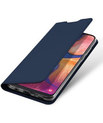 Dux Ducis Samsung Galaxy A20e Bookcase Hoesje Blauw Hoesjes