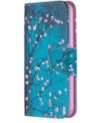 Nokia 4.2 Portemonnee Hoesje met Blossom Print