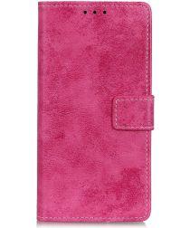 Nokia 4.2 Vintage Portemonnee Hoesje Roze