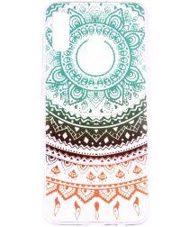 Samsung Galaxy A20e TPU Hoesje met Mandala Print