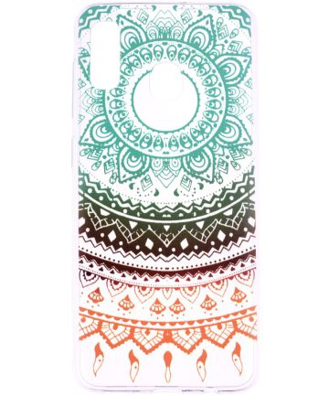 Samsung Galaxy A20e TPU Hoesje met Mandala Print Hoesjes