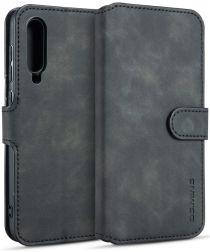 Xiaomi Mi 9 SE Retro Portemonnee Hoesje Zwart