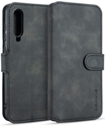 Xiaomi Mi 9 SE Retro Portemonnee Hoesje Zwart Hoesjes