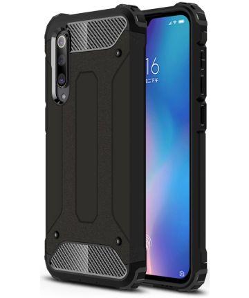 Xiaomi Mi 9 SE Hybride Hoesje Zwart Hoesjes