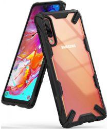 Ringke Fusion X Samsung Galaxy A70 Hoesje Zwart