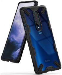 Ringke Fusion X OnePlus 7 Back Cover Hoesje Zwart