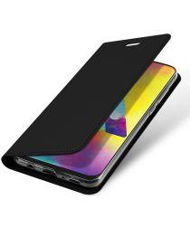 Dux Ducis Skin Pro Series Samsung Galaxy M20 Flip Hoesje Zwart