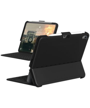 Urban Armor Gear Scout Hoes Apple iPad Pro 12.9 (2018) Zwart