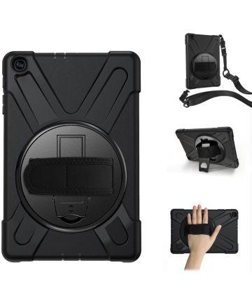 Samsung Galaxy Tab A 10.1 (2019) Hybride Kickstand Hoesje Zwart Hoesjes
