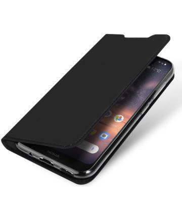 Dux Ducis Nokia 3.2 Bookcase Hoesje Zwart Hoesjes