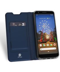Dux Ducis Google Pixel 3A XL Bookcase Hoesje Blauw