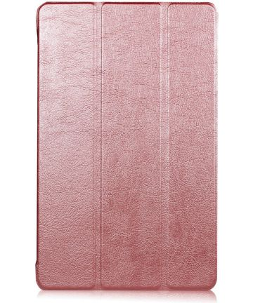 Samsung Galaxy Tab A 10.1 (2016) Tri-Fold Flip Case Roze Hoesjes