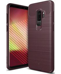 Caseology Vault Samsung Galaxy S9 Plus Hoesje Burgundy