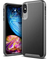 Caseology Wavelength Apple iPhone XS Max Hoesje Zwart
