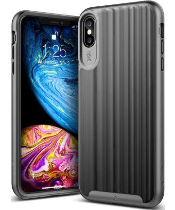 Caseology Wavelength Apple iPhone XS Max Hoesje Zwart Hoesjes