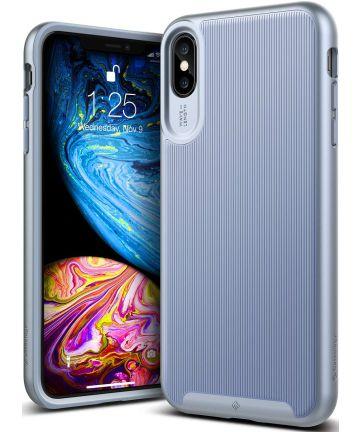 Caseology Wavelength Apple iPhone XS Max Hoesje Licht Blauw Hoesjes