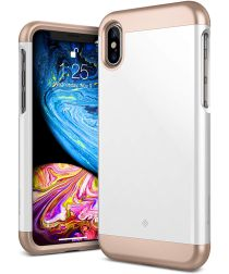 Caseology Savoy Apple iPhone XS / X Hoesje Wit