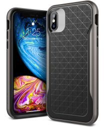 Caseology Apex Apple iPhone XS / X Hoesje Zwart