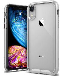Caseology Skyfall Apple iPhone XR Hoesje Transparant/Zilver