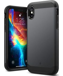 Caseology Legion Apple iPhone XS / X Hoesje Zwart
