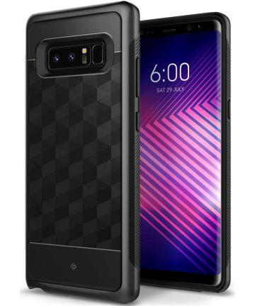 Caseology Parallax Samsung Galaxy Note 8 Hoesje Zwart Hoesjes